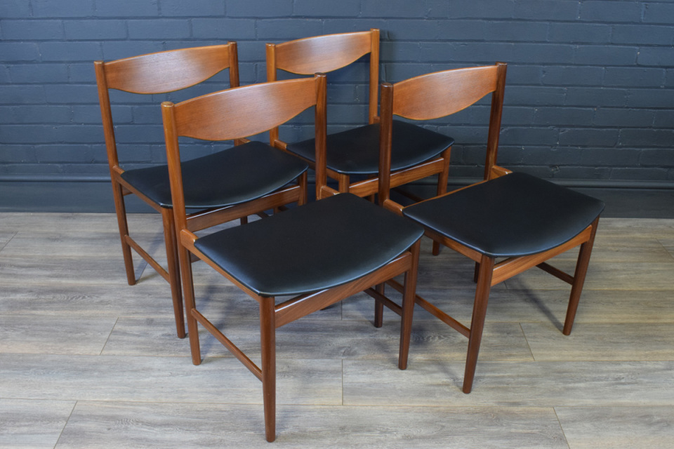 Late 60s Early 70s Teak G Plan Chairs
